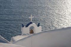 响铃教会希腊 库存图片
