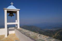 响铃教会希腊 免版税库存照片