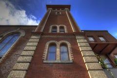 响铃教会有历史的老塔 图库摄影