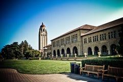 响铃斯坦福塔大学 免版税库存图片