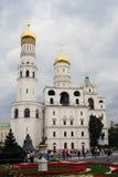 响铃极大的ivan塔 克里姆林宫莫斯科 科教文组织世界遗产站点 免版税图库摄影