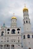 响铃极大的ivan塔 克里姆林宫莫斯科 联合国科教文组织遗产 免版税图库摄影