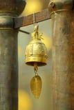 响铃,在泰国的寺庙的响铃 库存图片