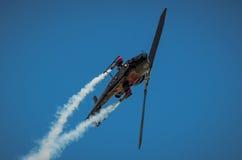 响铃AH-1在拉多姆飞行表演期间的眼镜蛇显示2013年 免版税库存照片