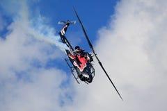 响铃AH-1S眼镜蛇 免版税图库摄影