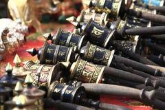 响铃dharamsala印度西藏 免版税库存图片