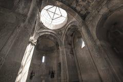 哎呀,亚美尼亚- 5月02 :Goshavank Monaster 2016年5月02日 Goshav 免版税库存图片