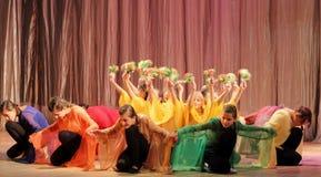 哑舞蹈的马戏团聋和 图库摄影
