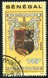 哥伦布个人徽章 库存图片