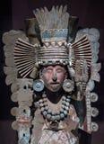 哥伦布发现美洲大陆以前中美洲石雕象 免版税库存照片