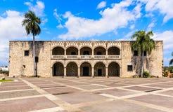 哥伦布家庭宫殿 免版税图库摄影