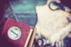 哥伦布日、发现和探险 免版税库存照片