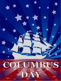 哥伦布日 库存图片