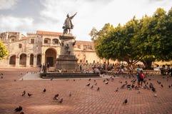哥伦布纪念碑 库存图片
