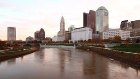 哥伦布,俄亥俄的Timelapse视图地平线4K 影视素材