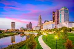 哥伦布,俄亥俄,美国 免版税库存照片