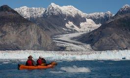 哥伦比亚冰川 免版税库存照片