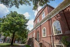 哥伦比亚大学,纽约,美国 免版税库存照片