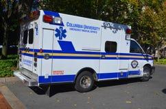 哥伦比亚大学紧急医疗服务 库存图片
