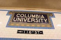 哥伦比亚大学 免版税图库摄影
