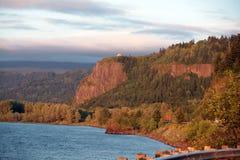 哥伦比亚峡谷河 免版税库存照片