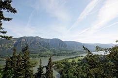 哥伦比亚峡谷西北俄勒冈太平洋河 库存照片