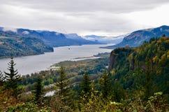 哥伦比亚峡谷辉煌 免版税库存照片