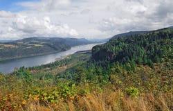 哥伦比亚峡谷-全景 图库摄影