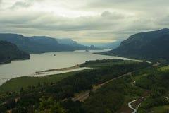 哥伦比亚峡谷 免版税库存照片