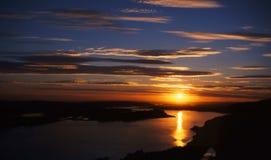 哥伦比亚河峡谷 免版税图库摄影