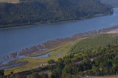 哥伦比亚河 免版税库存图片