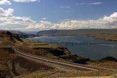 哥伦比亚河 库存图片