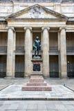 哥伦比亚的国会的庭院 免版税库存图片