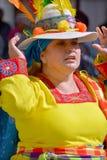 哥伦比亚的妇女 免版税库存照片