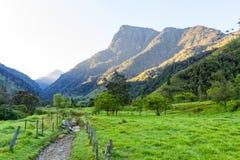 哥伦比亚的山 库存照片