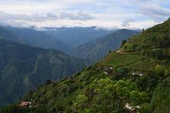哥伦比亚的山 图库摄影