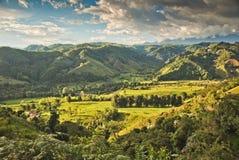 哥伦比亚的横向 图库摄影