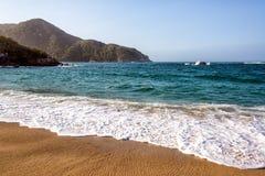 哥伦比亚的海岸 免版税图库摄影