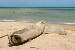 哥伦比亚的海滩 免版税图库摄影