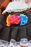 哥伦比亚的礼服 免版税库存图片