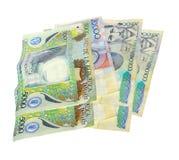 哥伦比亚的货币 免版税图库摄影