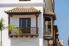 哥伦比亚的阳台 免版税库存照片