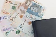 哥伦比亚的货币 免版税库存图片