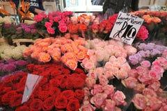 哥伦比亚路花市场伦敦,英国 免版税库存照片