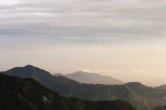 哥伦比亚-山在内华达山脉de Santa Marta 库存照片