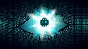 哥哥电子眼睛概念,全球性监视的技术 库存照片