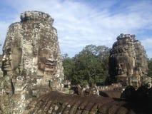 吴哥城暹粒,柬埔寨 库存照片