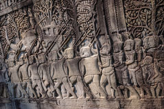 吴哥城, siemreap,柬埔寨 库存照片