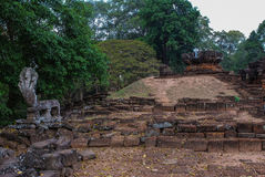 吴哥城, siemreap,柬埔寨 图库摄影