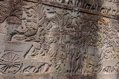 吴哥城, siemreap,柬埔寨 免版税库存图片